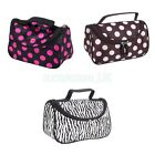 Cosmetic Toiletry Make-up Bag Hand Case Pouch Holder Zipper Beauty Women Lady