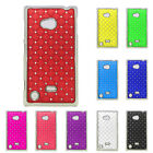 New Crystal Diamond Bling Skins Hard Back Case Cover For Nokia Lumia 720 N720