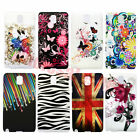 Colorful Hard Plastic Back Case Cover For Samsung Galaxy Note 3 III N9000 N9005
