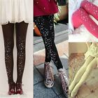 New Women Colorful Rhinestone Studded Leggings Sequin Tights Pants M2396