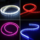 Waterproof 24/48/72/120 CM LED Car Strip Light White/Red/Blue/Pink For All Cars