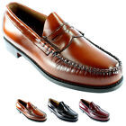 Mens G.H. Bass Larson Slip On Smart Penny Loafer Flat Leather Shoes All Sizes