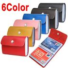 Premium Leather Wallets Credit Card Holder ID Business Purse Unisex  26 slots