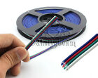 Lots 4pin LED RGB Cable Wire for 3528 5050 SMD Extension Cord Fairy Light Strip