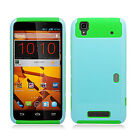 For Boost Mobile ZTE Boost Max NEST HYBRID HARD Case Rubber Phone Cover