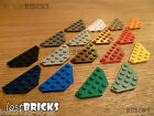 5 x LEGO Wedge Plates 3x6 Cut Corners (Part 2419) + SELECT COLOUR + FREE POSTAGE