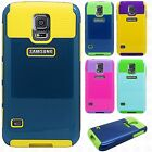 For Samsung Galaxy S5 NEST HYBRID HARD Case Rubber Phone Cover Accessory