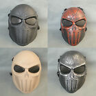 New Style Full Face Protection Multi-color Paintball Airsoft Skull Mask Props