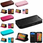 Leather Wallet Case Stand Cover Skin for Motorola Moto G XT1032
