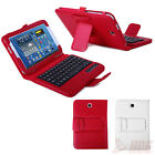 Leather Case Cover Stand + Bluetooth Keyboard for Samsung Galaxy Note 8.0 N5100