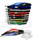Motorcycle Reflective Rim Wheel Tape With EZ Applicator Stripes Strips Decals FX $18.95 USD