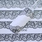 Womens Chic Popular 3D Design Nail Art Stickers Decals Nail Tips Decoration Tool