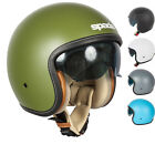 SPADA RAZE OPEN FACE INTERNAL SUN VISOR SUMMER CRUISER MOTORCYCLE SCOOTER HELMET