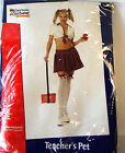 Teacher's Pet Sexy School Girl Adult Costume S M L NIP