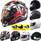 Leopard LEO-819 Scooter Motorbike Motorcycle Crash Helmet Sun Visor Optional