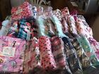 New Joe Boxer Pajamas  Womens Flannel 2 Piece Sets Use Drop Boxes Motif Size