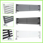 Horizontal Designer Central Heating Panel Column Radiator White Black Anthracite