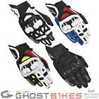 ALPINESTARS GPX SHORT SUMMER MOTORCYCLE LEATHER SPORTS STREET RACING BIKE GLOVES