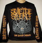 Suicide Silence Black Crown long sleeve T-Shirt Size S XL 2XL 3XL Deathcore new!