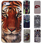 Pretty Plastic Snap on Protector Luxury Black Case Cover For Apple iPhone 5/5S