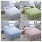 Solid Pillow Cases Home Decorative Cushion Covers New 100% Cotton 2Pc 4 Colours