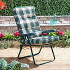 Replacement Garden Recliner Luxury Cushion - Choice of Colours