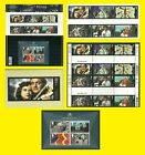 2014 Great British Film all Royal Mail varieties issued each sold seperately