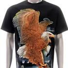 h10 Rock Chang T-shirt Tattoo Glow in Dark HD PRINT Eagle Hawk Freedom Men Tee