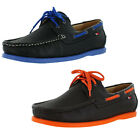 Phat Farm Lagos Men's Top-Sider Boat Shoes Colored Bottoms