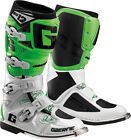 NEW GAERNE SG-12 MOTOCROSS MX DIRTBIKE OFFROAD BOOTS WHITE GREEN ALL SIZES