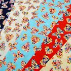 Floral Hearts And Butterflies Flower Toss Colourful Polycotton Fabric