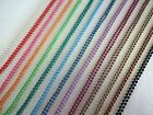 52 Yards Spool 1.5mm Colored Metal Ball Chain Unfinished Bulk For Necklace Trim