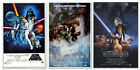 "STAR WARS: EPISODE IV, V VI - 3 PIECE MOVIE POSTER PRINT SET (27 X 40"")"