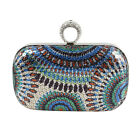 BMC Womens One Ring Knuckle Duster Evening Clutch Sequin Design - Various Styles