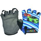 New Child Thin Half Finger Outdoor Sports Cycling Bike Gloves Four-color HBT20