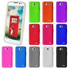 For LG Optimus L70 Protective Silicone Soft Rubber Skin Phone Cover Case