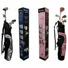 COUGAR XC-3 JUNIOR COMPLETE GOLF PACKAGE SET -NEW KIDS CLUBS BAG YOUTH AGES PINK