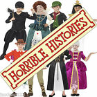 Horrible Histories Fancy Dress Kids Girls Boys Costumes Outfit World Book Day