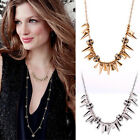 New Women's Fashion Renegade Cluster Linked Beads Gold / Silver Party Necklace