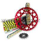Honda XR400 R 1996-2005 Regina ORN O'ring Chain And Renthal Sprocket Kit Red