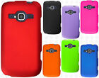 For ZTE Concord II 2 Z730 Rubberized HARD Protector Case Snap Phone Cover