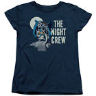 DC Comics Batman Robin & Batgirl Night Crew Women's T-Shirt Tee