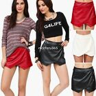 HOT WOMEN fASHHION SKORTS ASYMMETRIC TIERED CULOTTES SHORTS SKIRT 3 COLOURS NEW
