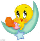 "5-8.5"" LOONEY TUNES BABY  TWEETY WALL SAFE STICKER BORDER CUT OUT"