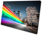 Abstract Los Angeles abstract  SINGLE CANVAS WALL ART Picture Print VA