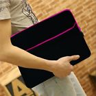 "14"" 14.1"" 14.3"" Neoprene Ultrabook Laptop Chromebook Notebook Sleeve Carry Case"