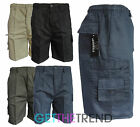 Mens Black Grey Beige 3/4 Shorts Men's Combat Casual Cotton Summer Shorts