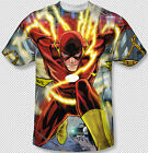 The Flash Runnin Through Police Line All Over Front Sublimation Youth Tshirt Top