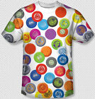 Wham-o Vintage Frisbee Collage art All Over Front sublimation Youth T-shirt Top