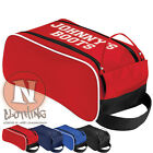 Personalised football boot bag for kids children. Sports clubs School PE kit.
